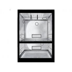 Chambre de culture Dual 100 x 100 x 200 cm - Black Silver