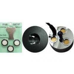 Pack Mist Maker 3 têtes + 3 disques de rechange - Brumisateur à ultrason