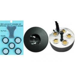 Pack Mist Maker 5 têtes + 5 disques de rechange - Brumisateur à ultrason