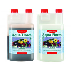 Aqua Flores A + B 1 litre - floraison - Canna - engrais hydroponique