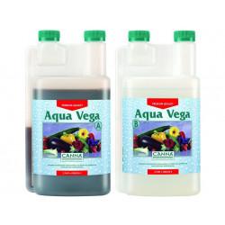 Aqua Vega a + B 1 litro de crecimiento - Canna - fertilizante hidropónico