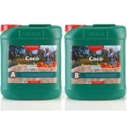 Canna Coco A + B 5 litres - croissance et floraison - Canna