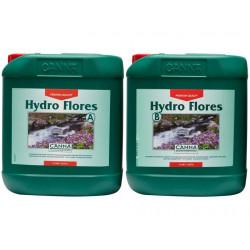 engrais Hydro Flores A + B 5 litres - floraison - Canna