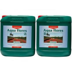 engrais Aqua Flores A + B 10 litres - floraison - Canna - engrais hydroponique