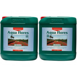 fertilizante Aqua Flores a + B 10 litros - bloom - Canna - fertilizante hidropónico