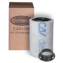 Filtro de carbón PUEDE filtrar 1500 - 100mm (de 75 a 200 m3/h)