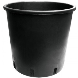 Pot rond noir 25L 35x30x27 - Pasquini E Bini