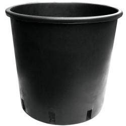 Pot rond noir 25L 35x28cm - Pasquini E Bini