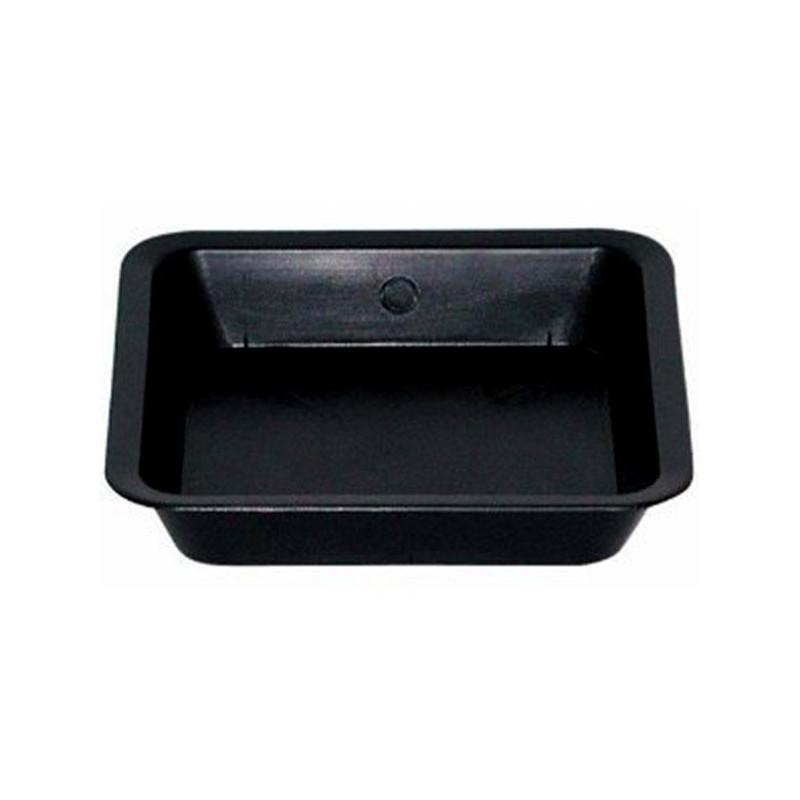 Coupelle Carre noir 30.5 x 30.5cm x 10pcs pour pot carré