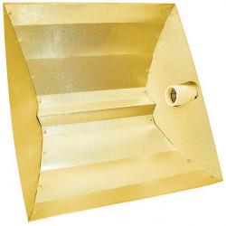 Reflecteur hps Pebble Gold 50x50x15 cm avec douille E40