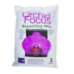 substrat orchidées -chips coco Orchid Focus en 3 L