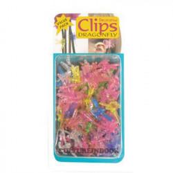 Clips clips de plantas/orchidéesDragonfly 6pcs