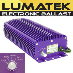Balastro electrónico Lumatek 1000W + Dimmer