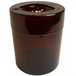 Boîte de conservation TightPac KiloVac 3,8 L marron transparente