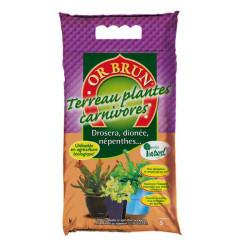 Terreau Plantes Carnivores 5L - Or Brun