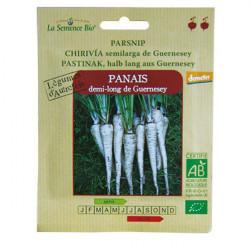 Graines bio Panais demi long de Guernesay Demeter - La Semence Bio