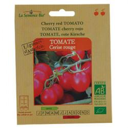Graines bio Tomate cerise rouge - La Semence Bio