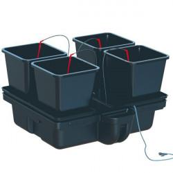 Systeme hydroponique Platinium HydroStar 80 4 Big Pots 18L