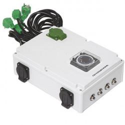 Boitier relais timer Davin 16 x 600W - DV 44K + chauffage