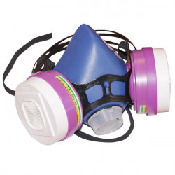 Demi-masque respiratoire Bi-filtre Wilsson Valua Phyto - Legoueix