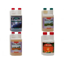Pack de fertilizantes Canna