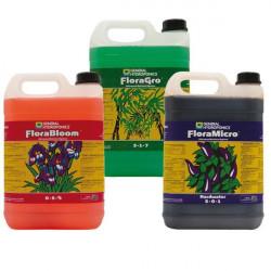 Pack de fertilizantes de la Flora de la serie 5L - GHE