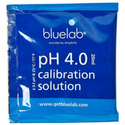 Solution de calibrage pH 4.0 - 20ml - Bluelab testeur ph