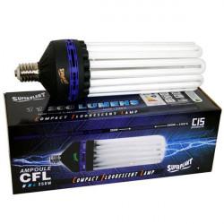 Ampoule CFL Dual 250W - 2100°K + 6400°K - Croissance Floraison - E40 - Superplant