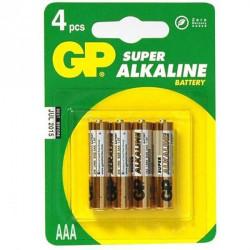 4 pilesLR3 Alcalina - CIS