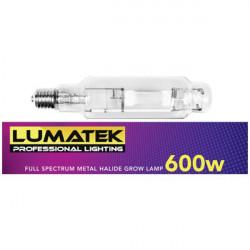 Bombilla Lumatek MH 600 w E40 de haluro de metal
