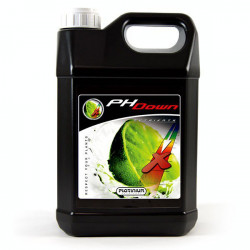 Platinium PH Down 5L , acide phosphorique 75%, abaisse le ph de vos solutions