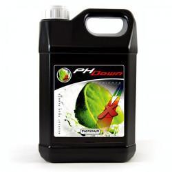 Platinium PH Down de 5L , ácido fosfórico 75%, baja el ph de sus soluciones
