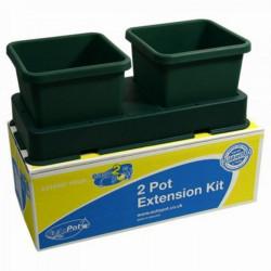 Système hydroponique Extension AutoPot 2 pots - Easy2grow