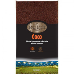 Mix Coco 60/40 coco/billes d'argiles 50L - Gold Label