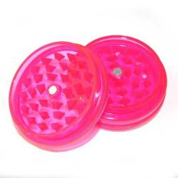 Molino de acrílico de 2 unidades de 50 mm de diam rosa de cocina