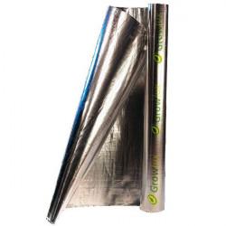 Mylar, Foylon 1.22 m x 1m (anti-detección) - Growlux Rollo de papel reflectante