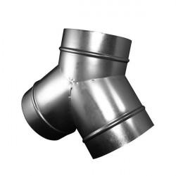 Hay derivación de metal 315mm conducto de ventilación