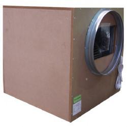 Vivienda insonorizadas con aire extractor de 3250 m3/h - Brida 2x250mm - Winflex