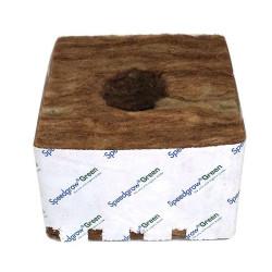10 cubes de laine de roche 10x10x6,5 cm - SpeedGrow Green