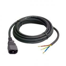 Câble 3 pôles IEC mâle 3G1.0
