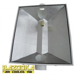Reflector de HPS/MH Bazooka Refrigerado por Aire a 150 mm - Portalámparas E40 - Superplant