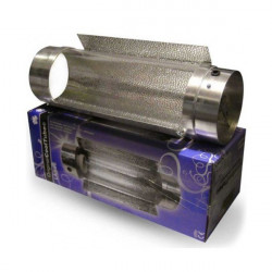 Réflecteur cool tube- pyrex- 150 mm avec reflecteur ext douille E40