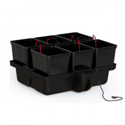 Système hydroponique Platinium HydroPro 80 6 pots