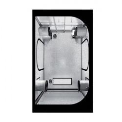 Cámara de cultivo de 120 x 120 x 200 cm - Negro Plata