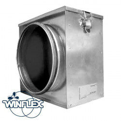 Filtro de partículas de 125 mm Winflex ventilación