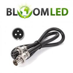 Conexión del cable de Alimentación - BloomLED