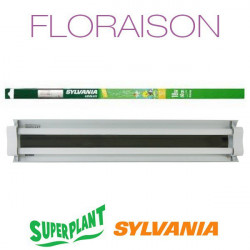 Rampe néon Floraison T5HO 2x24W Grolux Plug and Play - Superplant & Sylvania