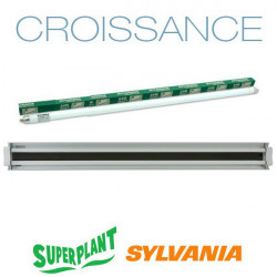 Rampe néon Croissance T5HO 2x54W 6500K Plug and Play - Superplant & Sylvania