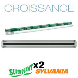 Boom de neón Crecimiento T5HO 4x54W 6500K Plug and Play - Superplant & Sylvania