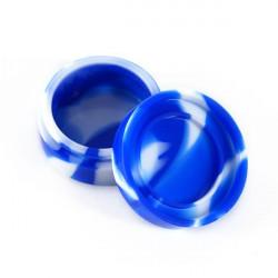 Boite en silicone - Blanc et Bleu